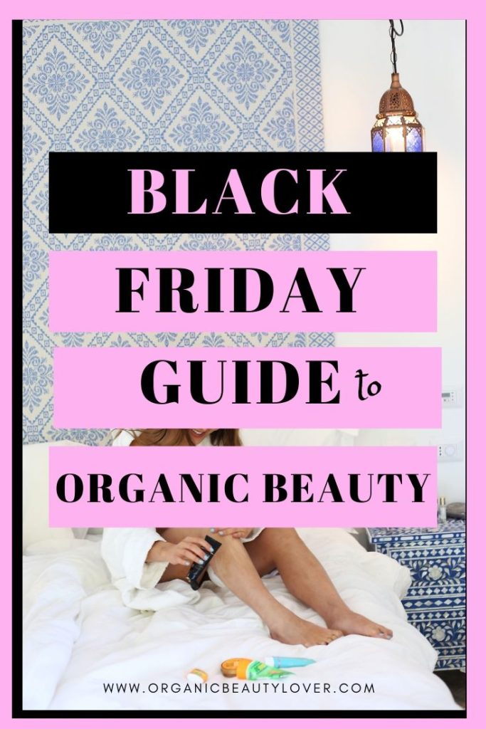 black friday organic clean beauty sales