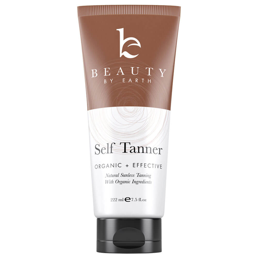 beauty by earth face self tanner
