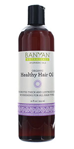 banyan botanicals organic healthy hair oil
