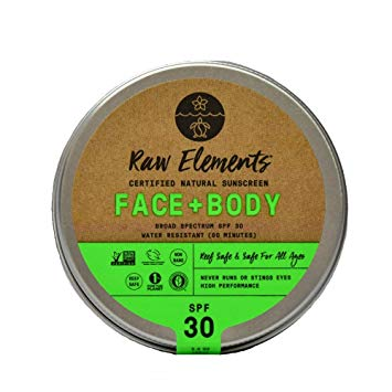 raw elements natural sunscreen