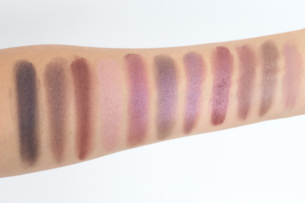 aether beauty eyeshadow palette swatches