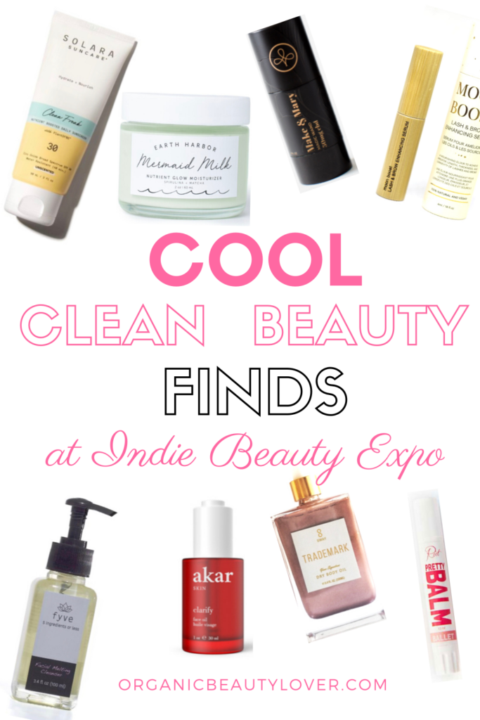 INDIE BEAUTY EXPO CLEAN BEAUTY ORGANIC SKINCARE BEAUTY ENTREPENEURS CBD NATURAL INGREDIENTS NONTOXIC