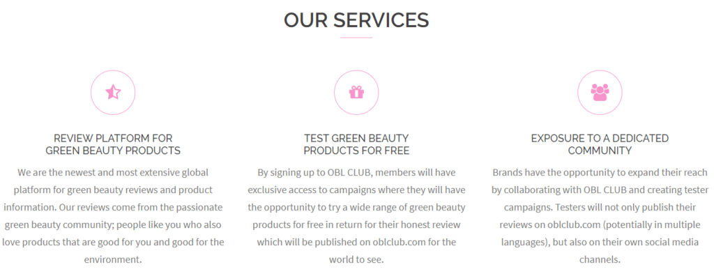 organic beauty lover club