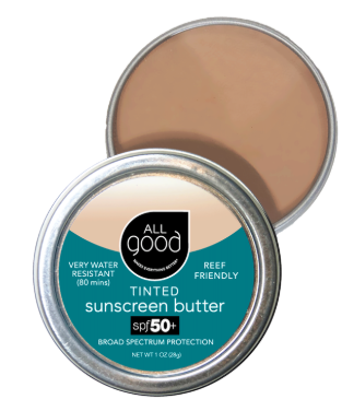 All Good SPF 50+ Tinted Mineral Sunscreen Butter