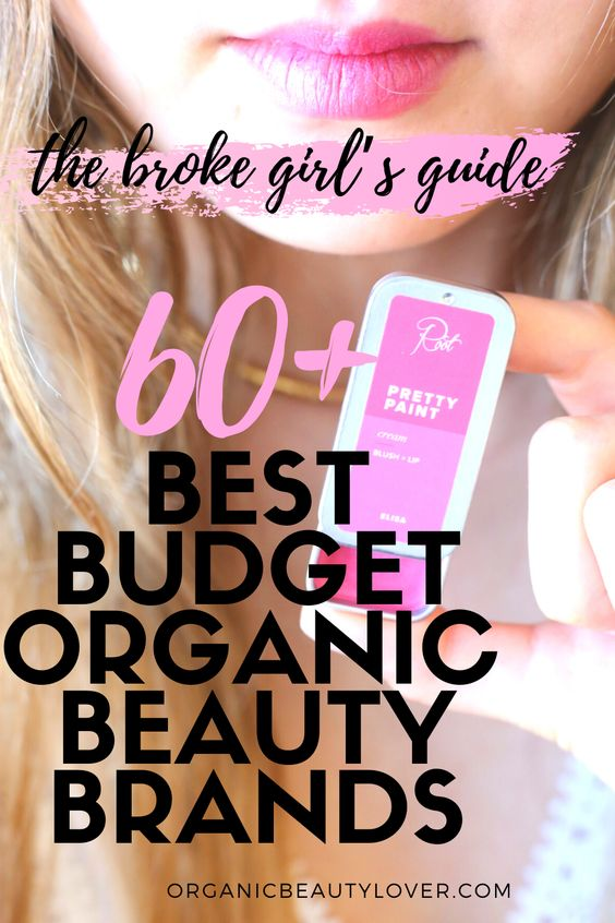 Best Budget-Friendly Organic Beauty Brands products cheap