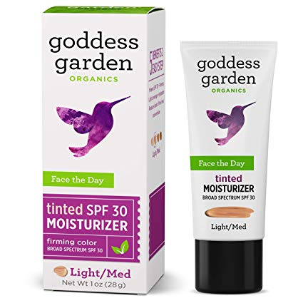 Goddess Garden Tinted Face the Day Daily Mineral SPF 30 Firming Moisturizer