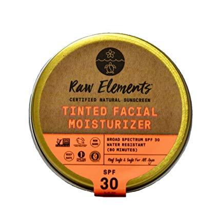 Raw Elements Organics Tinted Facial Moisturizer SPF 30