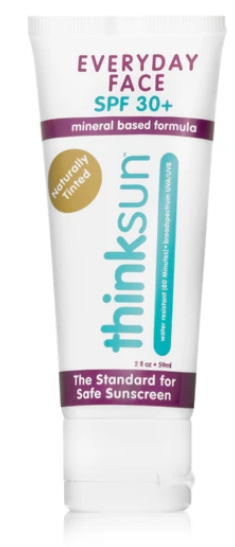 Thinksport face sunscreen review