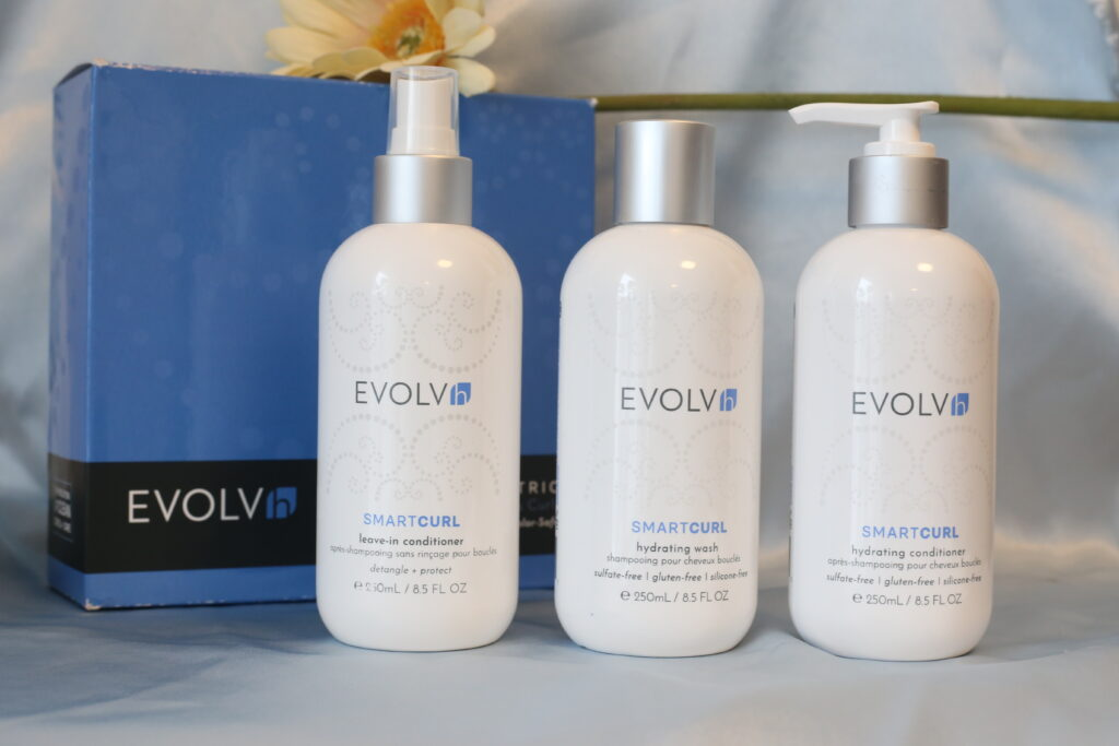 evolvh smartcurl haircare products