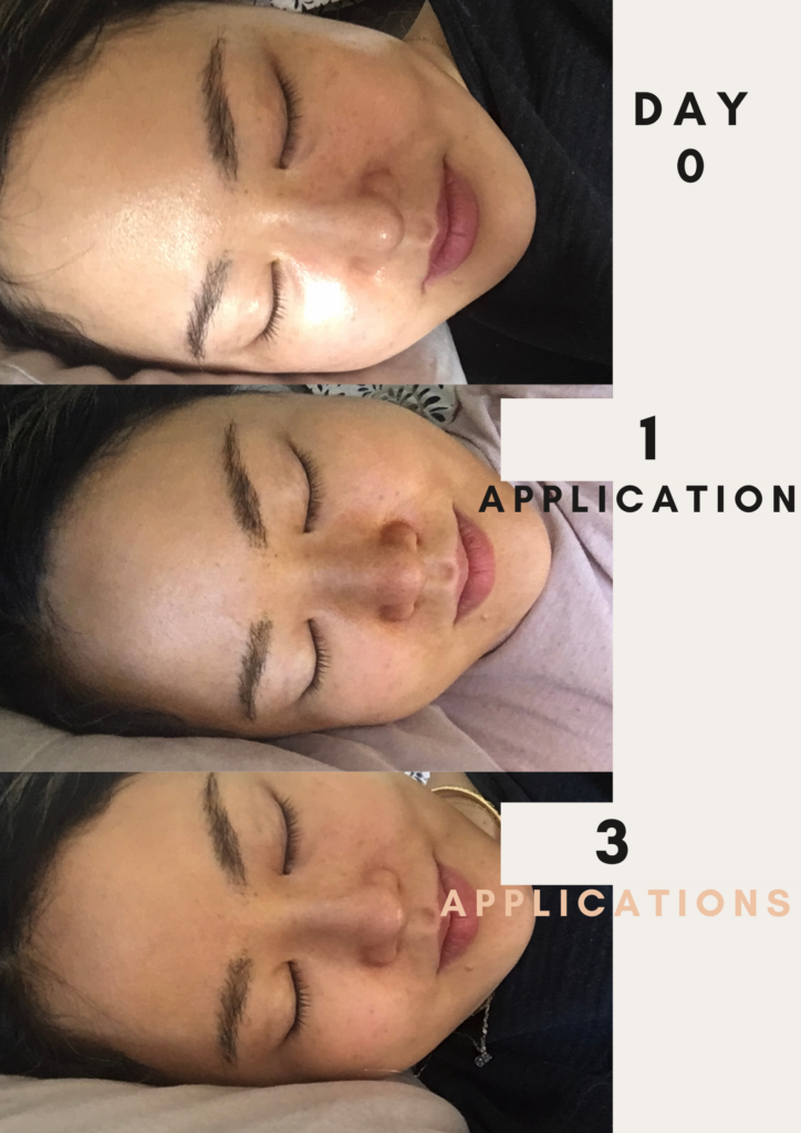 beauty by earth face self tanner before after