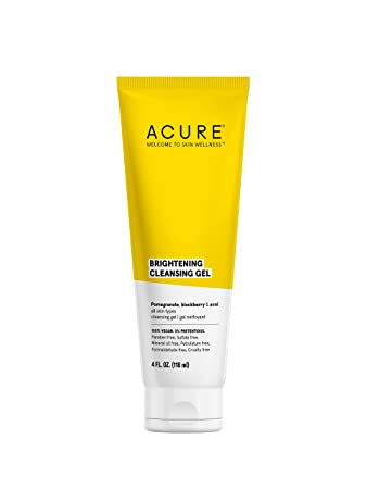 Acure cleansing gel