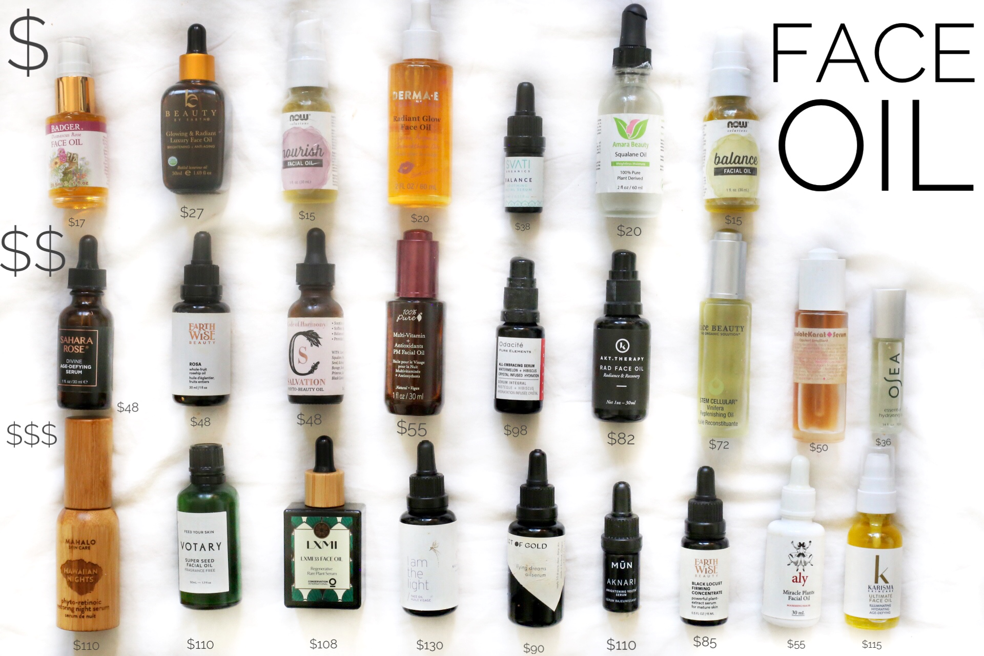 Best organic face oils