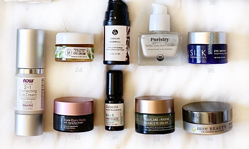 Best organic eye creams