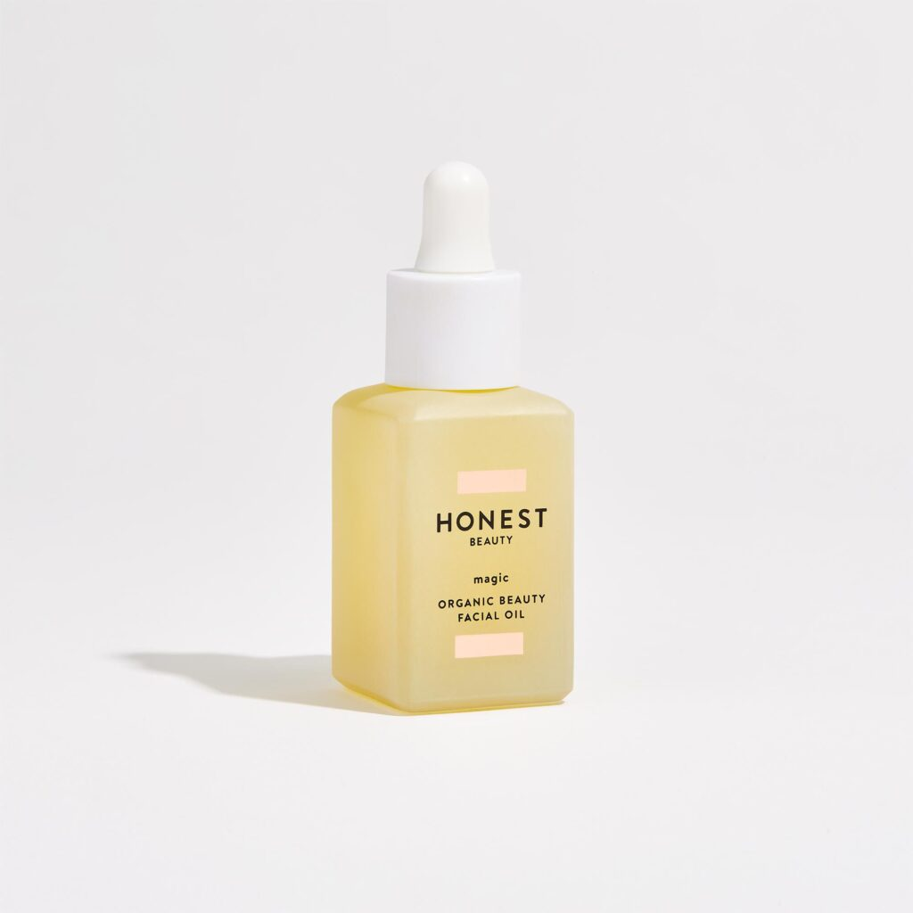 Honest beauty organic face oil