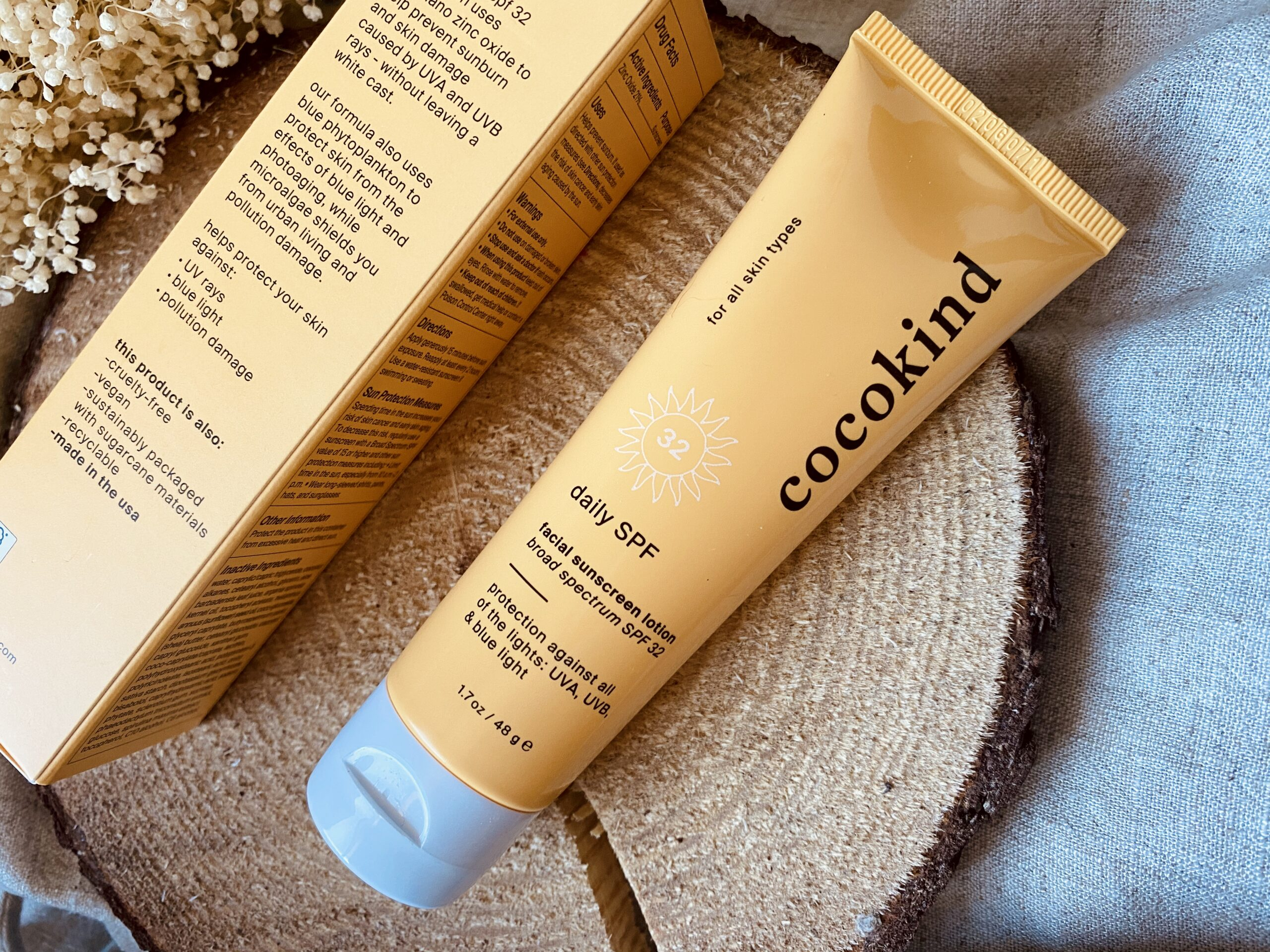 Cocokind sunscreen review