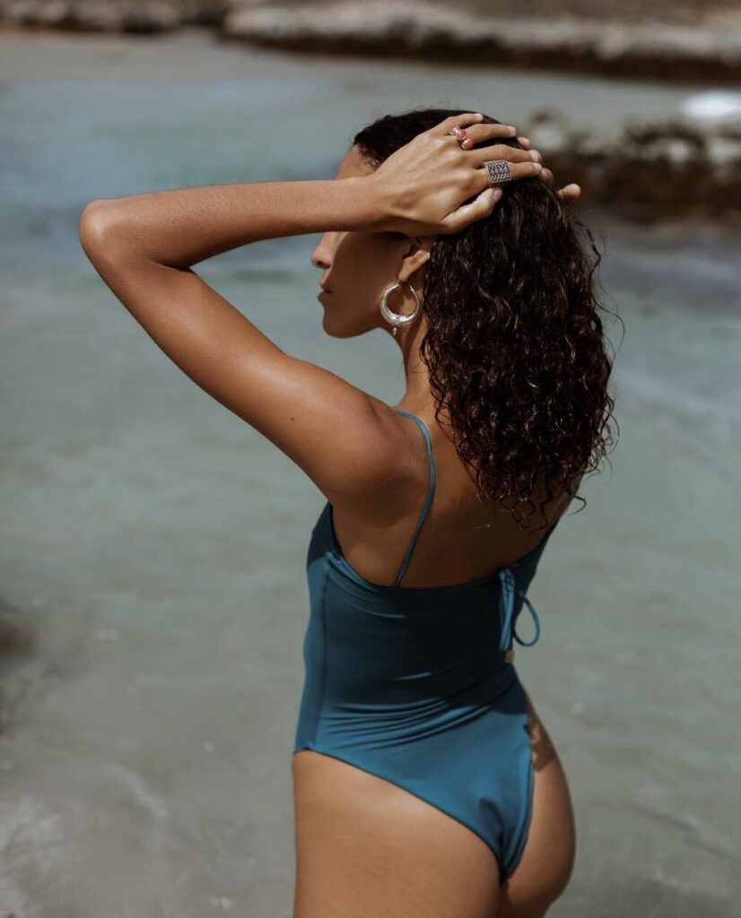 The natural swim swimsuit