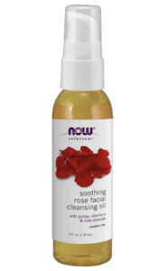 Now rose facial cleansing oil
