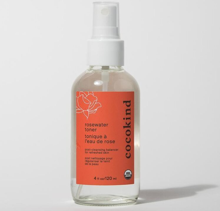 Cocokind rosewater toner